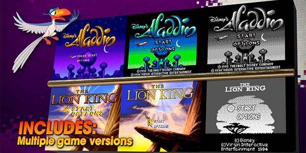 Reserva Disney Classic Games: Aladdin and The Lion King para PS4, Xbox One y Switch al mejor precio