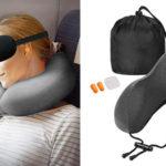 Sararoom almohadilla de viaje con cupón descuento Amazon
