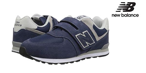 Chollo Zapatillas infantiles New Balance 574v2 Core Velcro