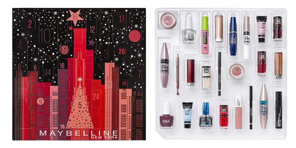 Calendario de Adviento de Maquillaje Maybelline New York 2019 barato en Amazon