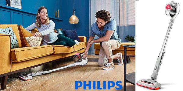 Chollo Aspirador de mano Philips Speedpro inalámbrico con succión de 180º
