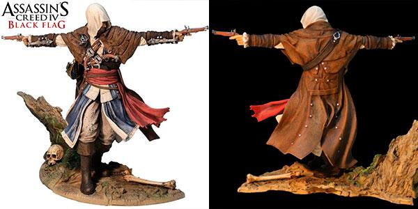 Chollo Figura Edward Kenway (Assassin's Creed 4: Black Flag) de 24 cm