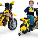 Chollo Moto Cross Thunder Max VX de 12V con ruedines