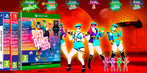 Chollo Just Dance 2020 para PS4, Xbox One y Switch
