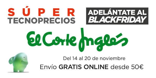 El Corte Inglés Super Tecnoprecios noviembre 2019