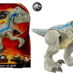 Dinosaurio de juguete Jurassic World Baby Blue Dino Velociraptor barato en Amazon