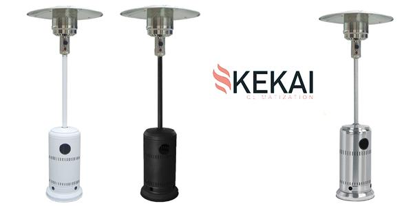 Estufa De Gas Para Exterior Kekai Niklas KT0584 barata en Amazon