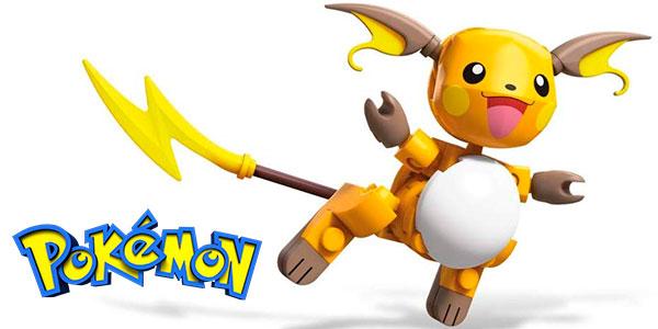 Figura Pokémon Raichu de Mega Construx barata