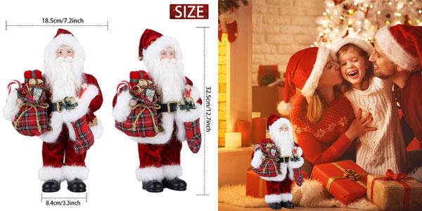 Figura grande de Papá Noel chollazo en Amazon