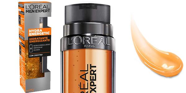 L'Oréal Paris Men Expert Hydra Energetic Hidratante Energizante de 50 ml barato en Amazon