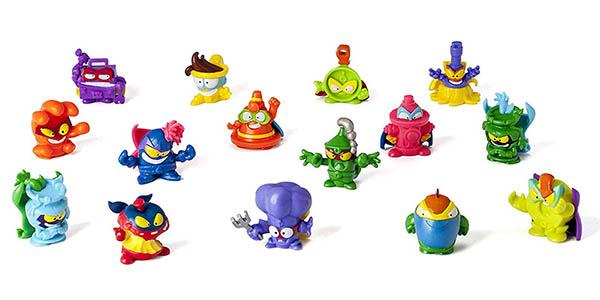 minifiguras Superzings Serie 4 coleccionables chollo