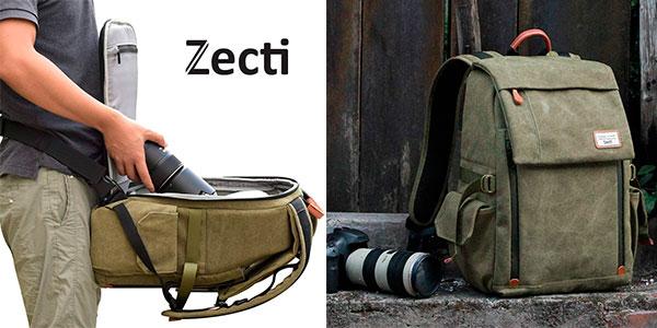 Mochila Zecti profesional para equipo fotográfico barata