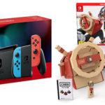 Nintendo Switch Azul / Neón (2019) + Nintendo Labo: Vehículos