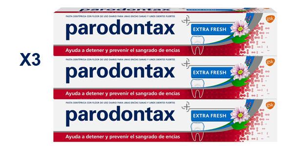 Pack x3 Pasta de Dientes Parodontax Extra Fresh para el Sangrado de Encías barato en Amazon