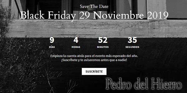 Pedro del Hierro Black Friday 2019