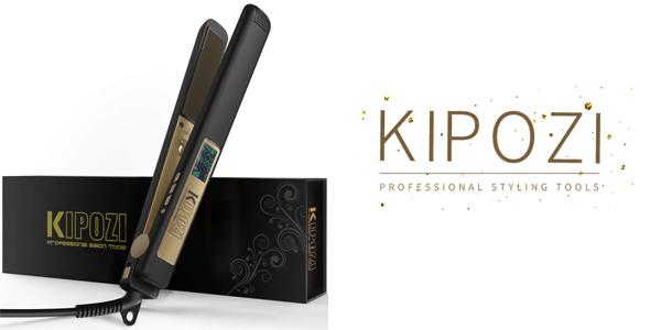 Plancha Pelo Profesional de KIPOZI barata en Amazon