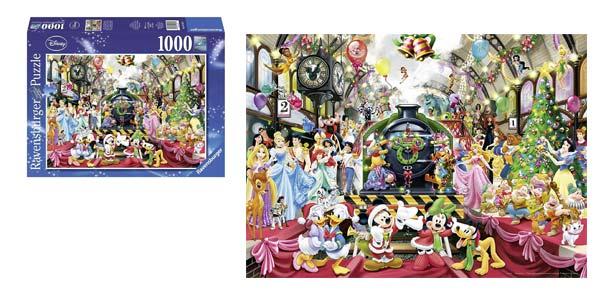 Puzle de 1000 piezas Navidad Disney de Ravensburger barato en Amazon