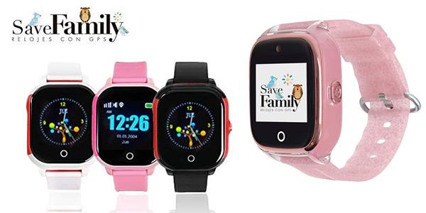 Reloj con GPS para niños SaveFamily barato en Amazon