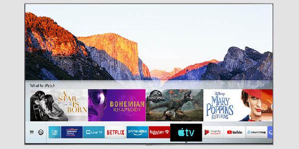 "Smart TV Samsung QE65Q70R UHD 4K HDR de 65"" barato"