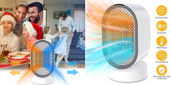 Uvistare calefactor eléctrico de aire barato