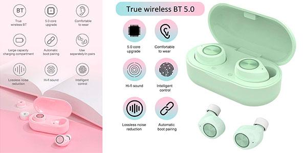 Auriculares Fesjoy TWS-TW60 Bluetooth 5.0 baratos