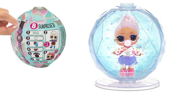 Bola LOL Surprise Glitter Winter Disco (Giochi Preziosi LLU99000) barata en Amazon