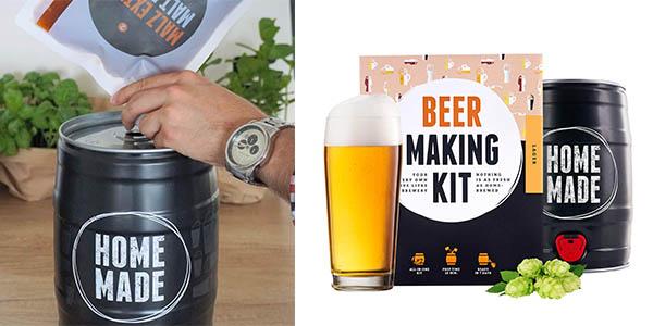 Brewbarrel Kit de elaboración de cerveza artesana lager chollo
