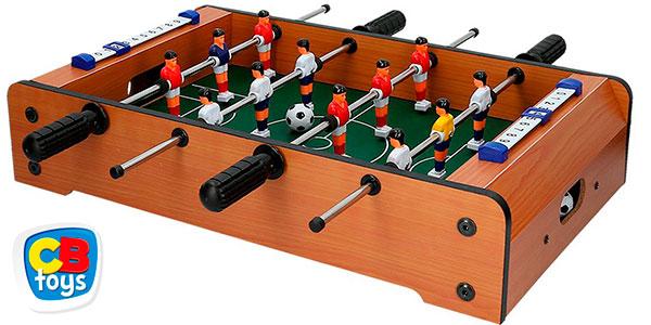 Chollo Futbolín CB Toys de madera para mesa