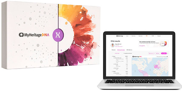 Chollo Kit de pruebas genéticas MyHeritage DNA