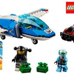 Chollo Set Arresto del Ladrón Paracaidista de LEGO City con 4 minifiguras
