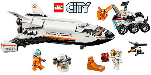 Chollo Set Lanzadera Científica a Marte de LEGO City con 2 minifiguras por sólo 21,19€ (-30%)