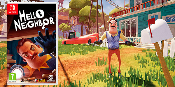 Chollo Hello Neighbor para Switch