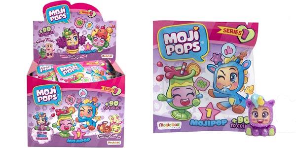 Display de 24 figuras coleccionables Mojipops barato en Amazon