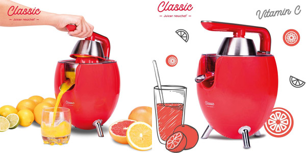 Exprimidor Zumo Eléctrico New Chef Juicer Classic barato en Amazon