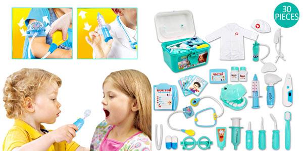 Maletín deAO de Doctor y Dentista Conjunto 2en1 barato en Amazon