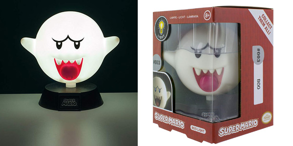 Lámpara LED Boo Super Mario chollo en Amazon