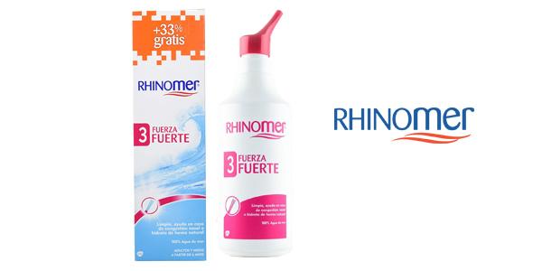 Novartis Rhinomer Fuerza 3 Fuerte de 135 ml + 45 ml barato en Amazon