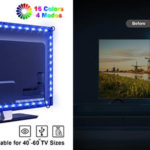 Omeril tira de luces LED Tv colores barata