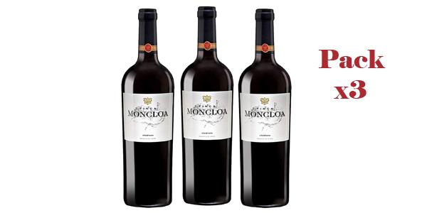 Pack x3 Botellas Finca Moncloa Syrah & Cabernet Sauvignon de 750 ml/ud barato en Amazon