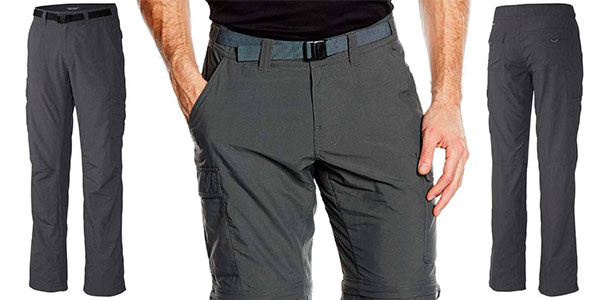 Pantalones convertibles Columbia Cascades Explorer para hombre baratos