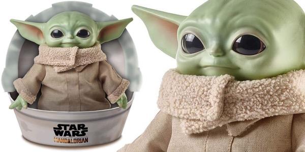 Peluche The Child Bebé Yoda Baby Yoda Mandalorian barato
