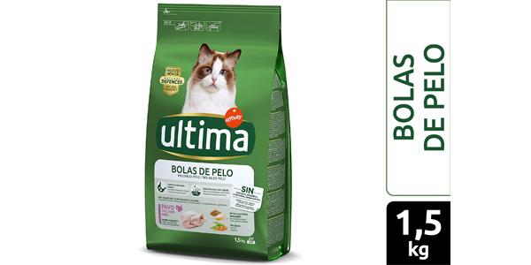 Pienso para Gatos Adultos Ultima de Affinity para Prevenir Bolas de pelo de 1,5 kg barato en Amazon