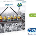 Puzle Minions 1000 piezas (Clementoni 39370) barato en Amazon