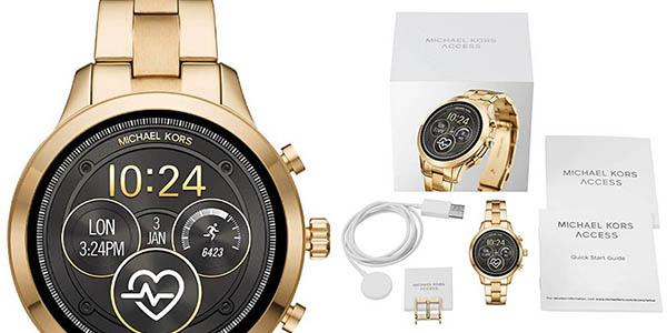 reloj de pulsera dorado Michael Kors MK5045 oferta