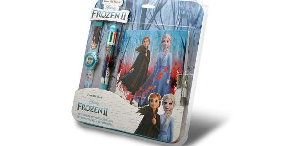 Set Frozen2 de Reloj Digital + Set de Papelería barato en Amazon