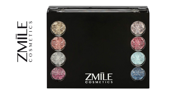 Set de maquillaje Diamonds de Zmile Cosmetics chollazo en Amazon
