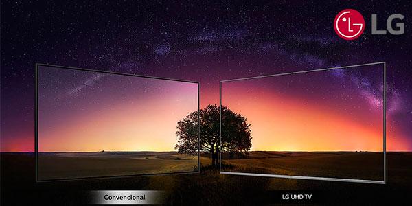 """Smart TV LG 55UM7610PLB UHD 4K HDR de 55"""" con IA en oferta"""