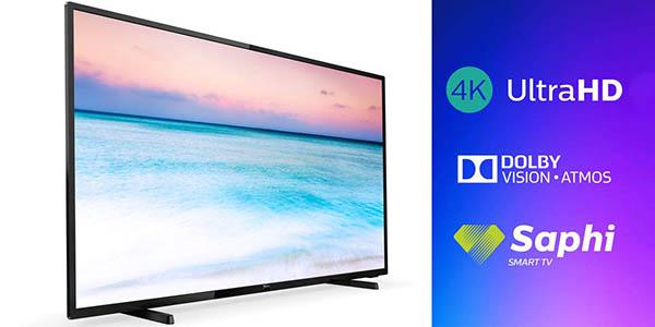 """Smart TV Philips 65PUS6504/12 UHD 4K de 65"""" HDR en Amazon"""