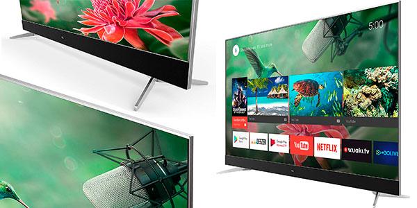 """Smart TV TCL U55C7006 4K UHD de 55"""" con Android TV en oferta"""