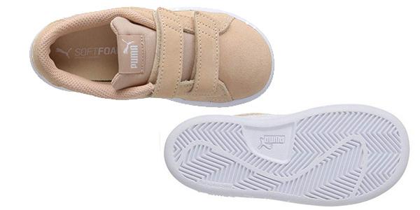Zapatillas deportivas PUMA Smash V2 SD V Inf para niños chollo en Amazon